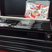 KTC黒色工具箱と工具セット